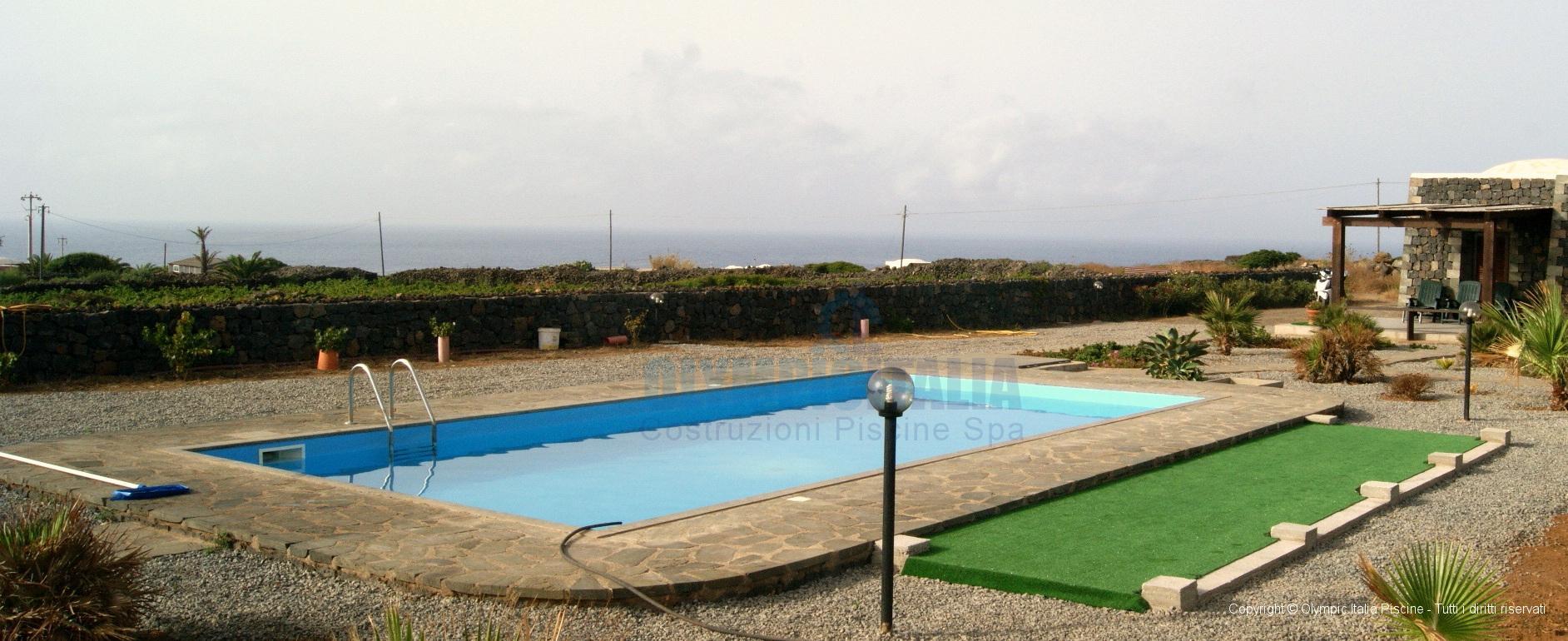 Piscine Prefabbricate Residence Pantelleria
